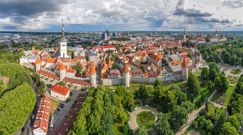 Tallinn old town a highlight of a Baltic Holidays private tour