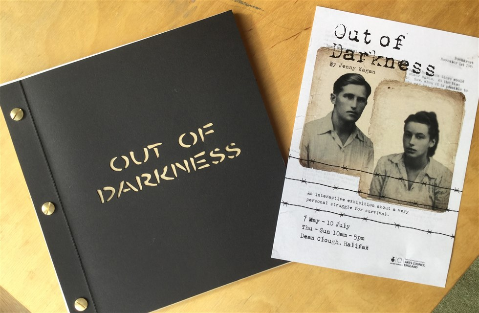 The accompanying book to the 'Out of Darkness' exhibition by Jenny Kagan