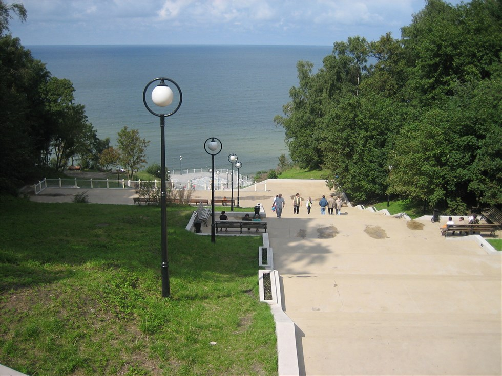 Visit Svetlogorsk seaside resort and beach on a Kaliningrad private tour