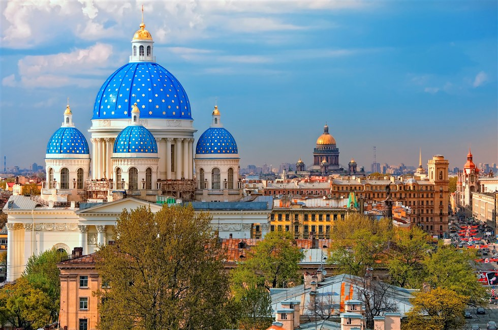 Visit St Petersburg on a tailor-made tour with Baltic Holidays