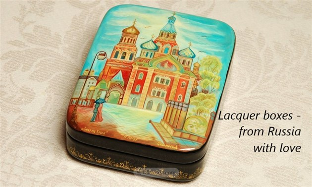 Russian laquer boxes