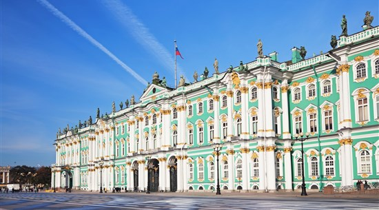 The Hermitage, Winter Palace - Russia - Baltic Holidays