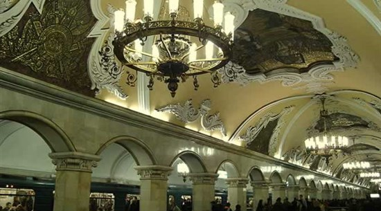 Moscow Metro - Russia - Baltic Holidays