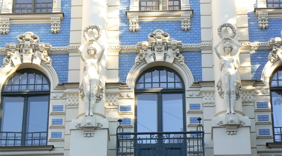 Art Nouveau Architecture - Latvia - Baltic Holidays