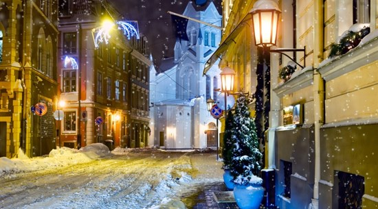 Riga Christmas Market Escorted Group Tour - Baltic Holidays