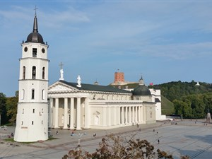 Vilnius Cathedral and Belltower