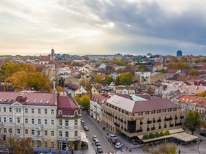 Vilnius is a beautiful and inspiring place to visit