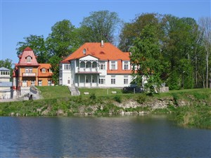 Kuressaare on the island of Saaremaa in Estonia is a lovely place to relax and unwind