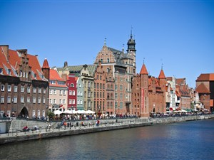 Gdansk historic waterfront private tour