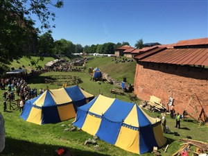 Hanseatic days in Kaunas is great for families on holiday