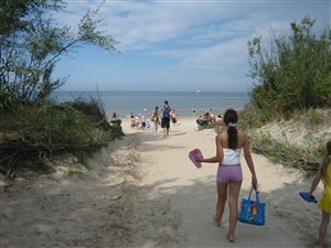 Beach holiday in Lithuania for the family