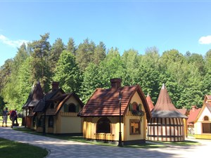 Fairytale villages on family holiday in the Baltic States