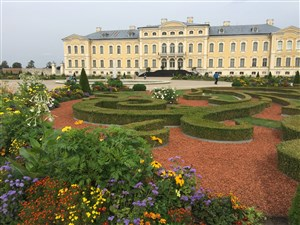 Rundale Palace in Latvia was a star in the BBC War & Peace production.