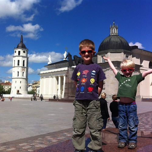 Family holiday in Lithuania